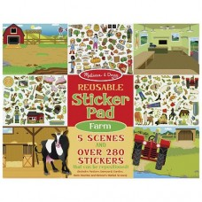 Stickers Reusable - Farm  - Melissa & Doug