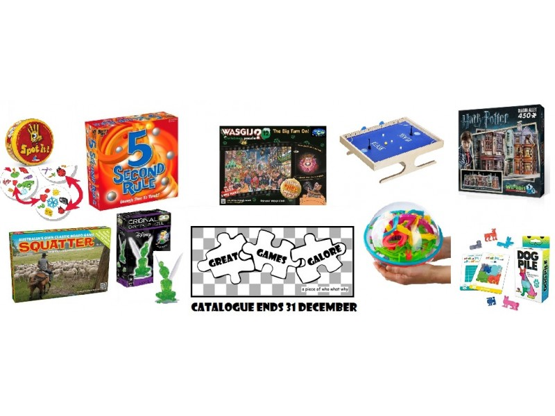 Games Catalogue