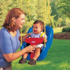 Swing - 2-in-1 Sung & Secure Toddler Swing - Little TIkes