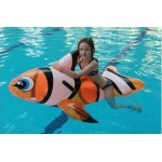 Pool Toy - Clown Fish Ride-on