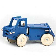 Truck Wooden Ride-on - Blue - Moover