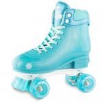 Roller Skates - Glitter Pop Adjustable Skates - Size 3 - 6 - Teal