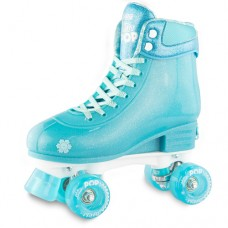 Roller Skates - Glitter Pop Adjustable Skates - Size 3 - 6 - Teal