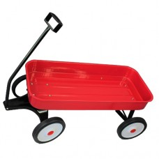 Metal Wagon Jumbo Red