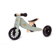 Tiny Tot Trike PLUS - Balance Bike SILVER SAGE - Kinderfeets  NEW STOCK AVAILABLE NOW!!