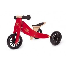 Tiny Tot Trike - Balance Bike - Kinderfeets CHERRY RED NEW