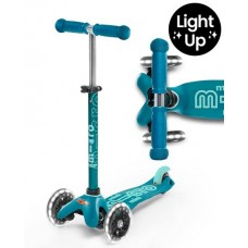 Scooter - Mini Micro Deluxe Aqua LED