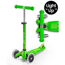 Scooter - Mini Micro Deluxe Green LED