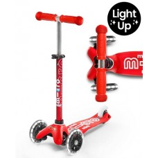 Scooter - Mini Micro Deluxe Red LED