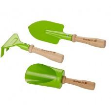 Garden Tools Metal Hand Tools 3 pc - Everearth