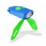 Mini Hornit - Bike/Scooter Light and Horn Blue/Green