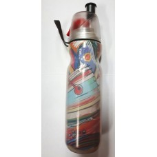O2Cool Mist n Sip Arctic Squeeze Drink Bottle - Artist Graffiti
