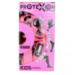 ProteXion Tri-Pack Kids - Pink - Wrist, Elbow, Knee Protection