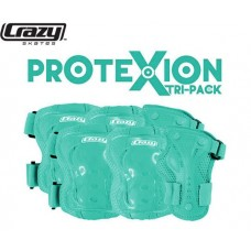 ProteXion Tri-Pack Kids - Teal - Wrist, Elbow, Knee Protection