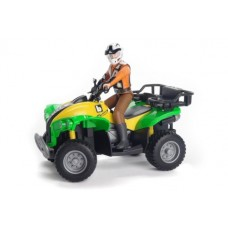 Quad Bike & Driver - Bruder 63000
