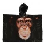 Rain Poncho - Monkey
