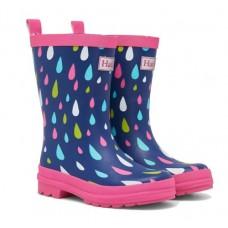 Gumboots - Rain Drops - Hatley 30% OFF