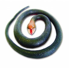 Rubber Snake - Red Bellied Black 118 cm