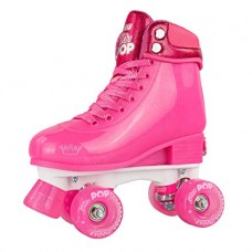 Roller Skates - Glitter Pop Adjustable Skates - Size 3 - 6 - Pink