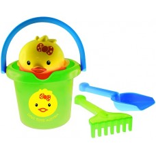 Sandset with Animal Can - Chicken Set -  Gowi Toys