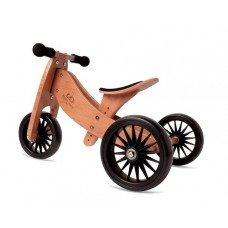 Tiny Tot Trike PLUS - Balance Bike Bamboo - Kinderfeets