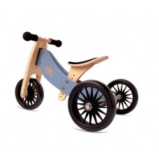 Tiny Tot Trike PLUS - Balance Bike  SLATE BLUE - Kinderfeets