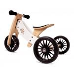 Tiny Tot Trike PLUS - Balance Bike  WHITE - Kinderfeets