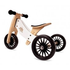 Tiny Tot Trike PLUS - Balance Bike  WHITE - Kinderfeets