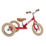Try Bike - 2 in 1 Metal Balance Bike and Trike - RED