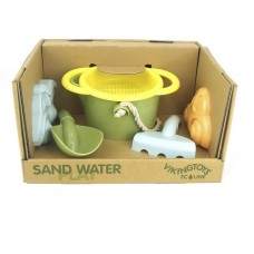 Bucket Set with Sieve Moulds, and Tools - ECO - Viking Toys