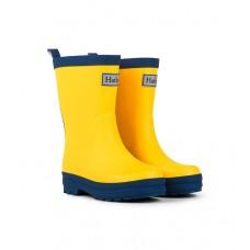 Gumboots - Yellow/Navy - Hatley 30% OFF