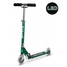 Scooter - Microscooter Sprite LED - Forest Green