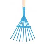 Garden Tools - Children's Rake Metal Leaf - Blue