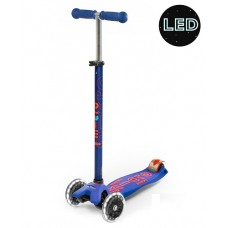 Scooter - Maxi Micro Deluxe LED - Blue