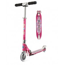 Scooter - Microscooter Sprite - Raspberry Floral Dot
