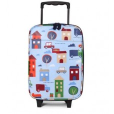 Wheelie Bag Kids Suitcase - Big City  - Penny Scallan
