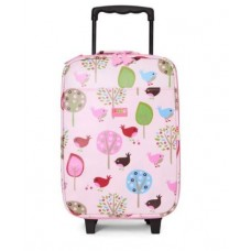 Wheelie Bag Kids Suitcase - Chirpy Bird   - Penny Scallan