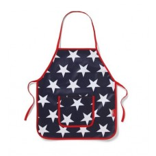Apron - Navy Star - Penny Scallan
