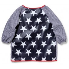 Art Smock Large - Navy Star - Penny Scallan