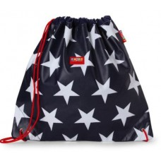 Library Bag - Navy Star - Penny Scallan