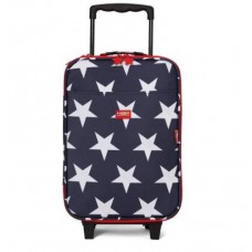 Wheelie Bag Kids Suitcase - Navy Star  - Penny Scallan