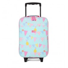 Wheelie Bag Kids Suitcase - Pineapple Bunting  - Penny Scallan