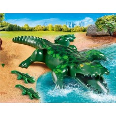Alligator with Babies - Playmobil City Life Zoo  NEW in 2021