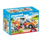 Ambulance with Lights & Sound - Playmobil City Life LIMITED STOCK