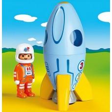 Astronaut with Rocket - Playmobil 123