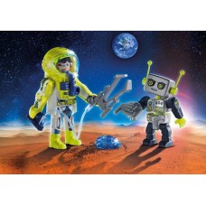 Astronauts and Robot Duo Pack - Playmobil Space NEW 2019
