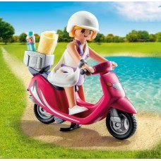 Beachgoer with Scooter - Playmobil