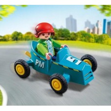 Boy in Go-Kart - Playmobil