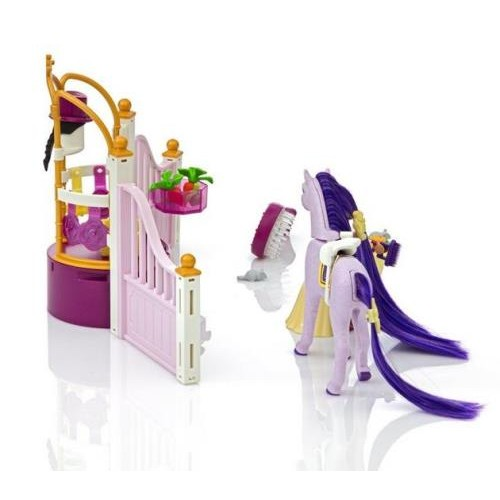 Castle stable playmobil princess playmobil new in 2017 from who what why - Chateau princess playmobil ...