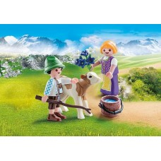 Child with Calf - Playmobil LIMITED STOCK